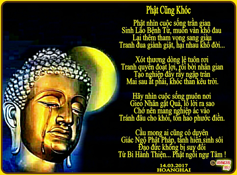 Phật Cũng Khóc