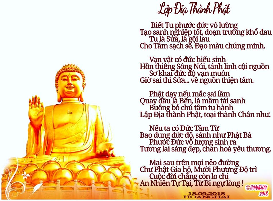 Lập Địa Thành Phật